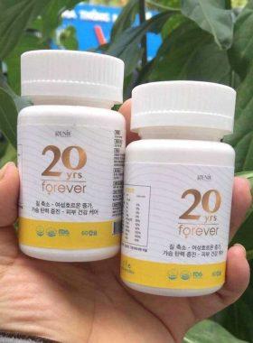 Viên uống se khít vùng kín Genie 20 yrs Forever 60 viên Hàn Quốc