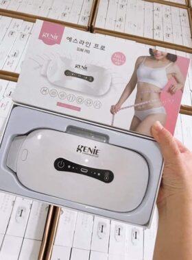 Máy Massage Thải Mỡ Bụng Genie Sline Pro Hút Mỡ Tại Nhà