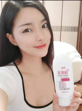 Kem Chống Nắng Genie Dr Sun Milk UV Protector SPF50+ PA+++