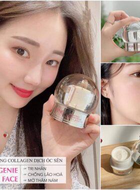 Kem Ốc Sên Dưỡng Trắng DaGenie Snow Face Collagen Cream