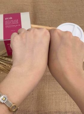 Kem Trắng Da Body Tinh Thể Nước Genie Skin Up Snow White Body Cream