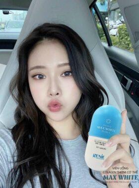 Viên Uống Collagen Thơm Cơ Thể Genie Premium Max White Plus+