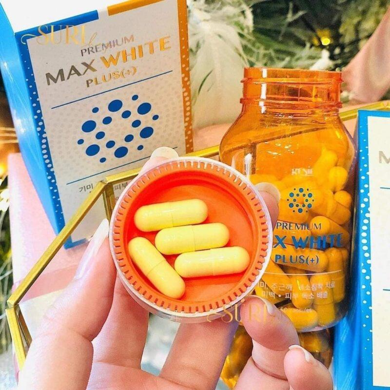 Viên Uống Trắng Da Genie Premium Max White Plus+